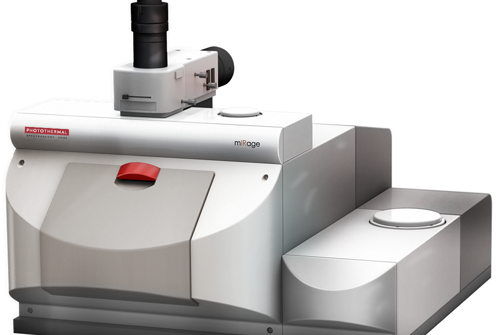 New mIRage IR Microscope disrupts the field of Infrared Spectroscopy by achieving sub-micron spatial resolution without the limitation of ATR